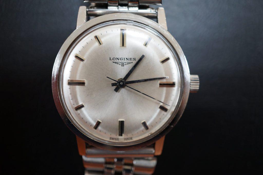 No.1461  LONGINES (ロンジン) 手巻き式 腕時計を修理しました