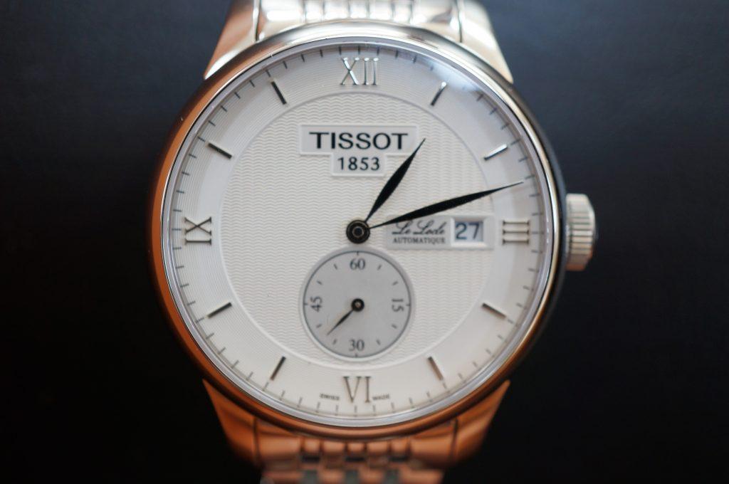 No.1463  TISSOT (ティソ ) 自動巻き腕時計を修理しました