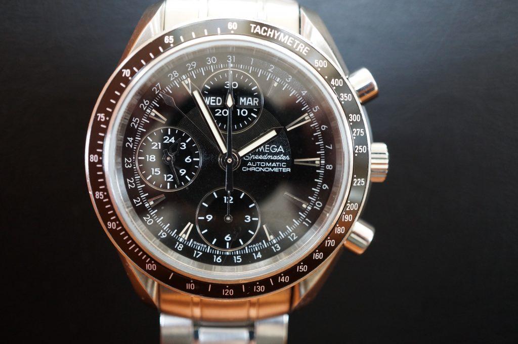 No.1465  OMEGA Speedmaster (オメガスピードマスター) 自動巻き腕時計を修理しました