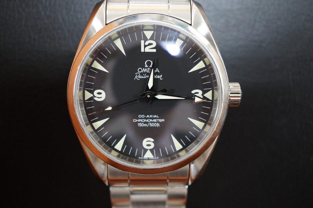 No.1487  OMEGA CO-AXIAL (オメガコーアクシャル) 自動巻き腕時計を修理しました