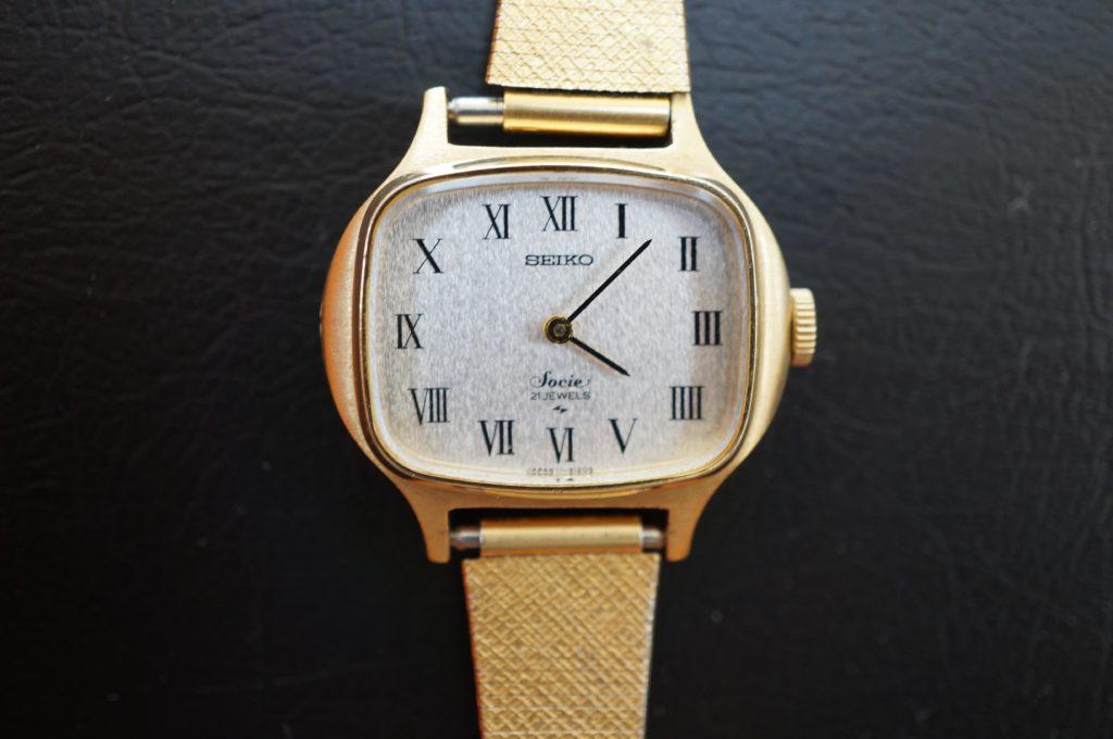No.1485  SEIKO (セイコー) 手巻き式 腕時計を修理しました
