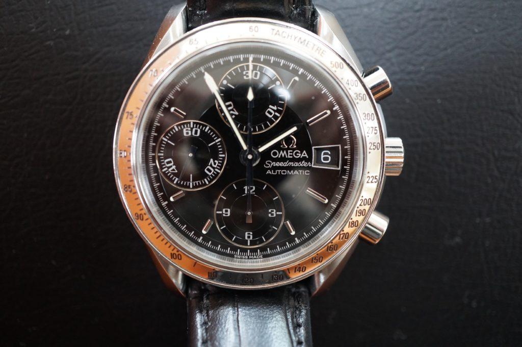 No.1481  OMEGA Speedmaster (オメガスピードマスター) 自動巻き腕時計を修理しました