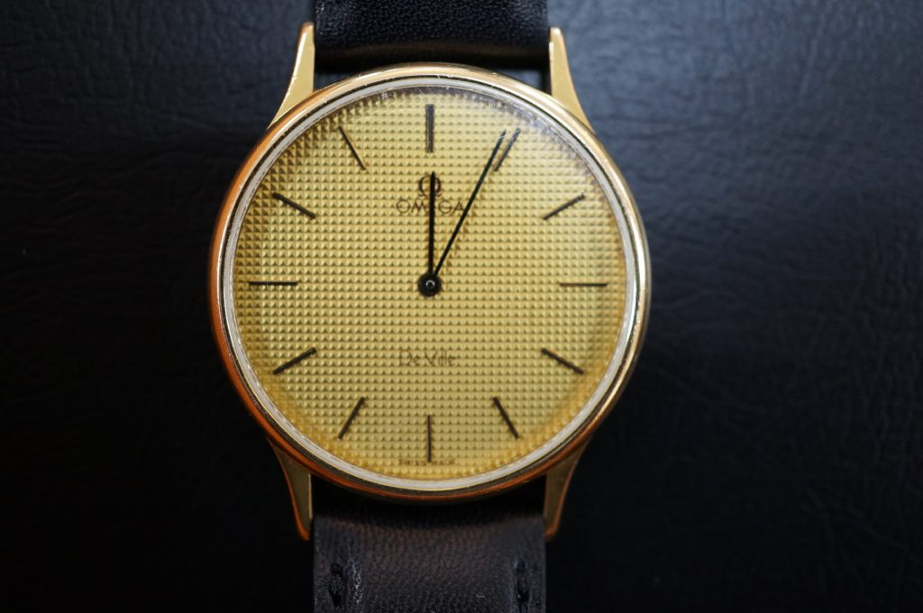 No.1484  OMEGA De Ville (オメガ デビル) クォーツ式腕時計を修理しました