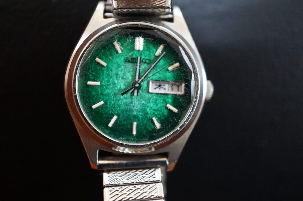 No.1482  SEIKO (セイコー) クォーツ式 腕時計を修理しました