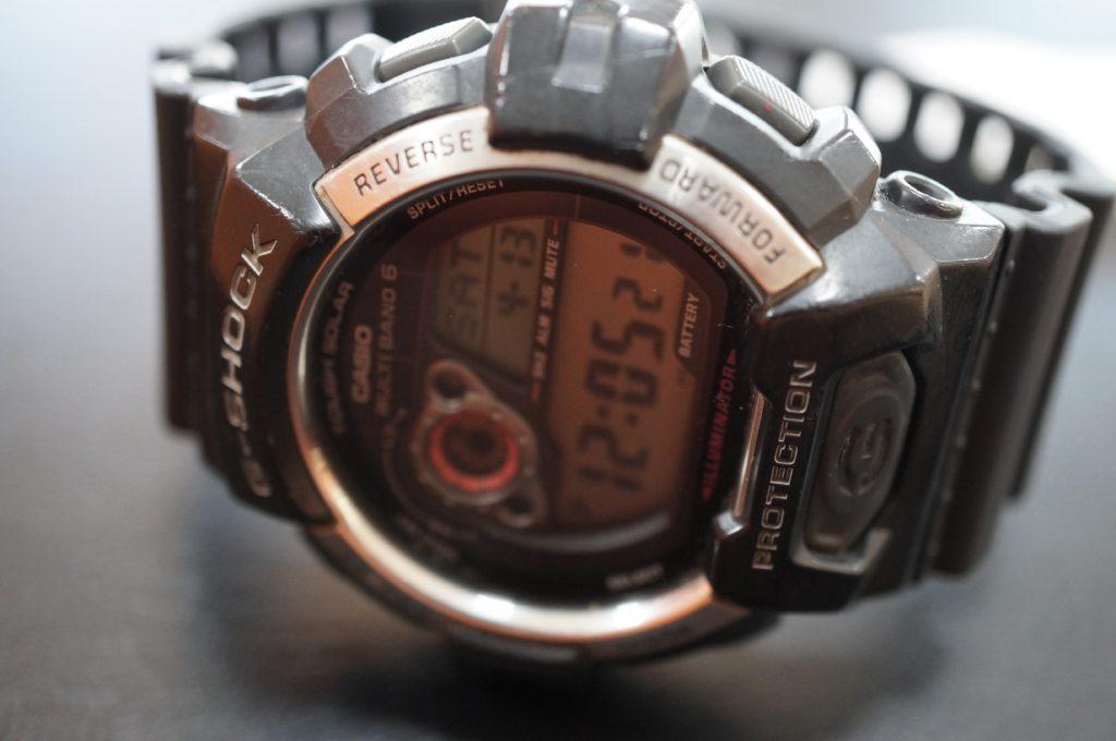 No.1501  CASIO (カシオ) クォーツ式腕時計を修理しました