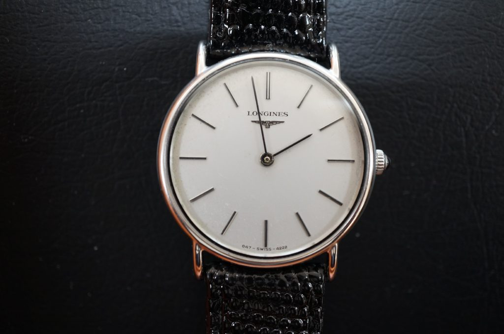 No.1507  LONGINES (ロンジン) クォーツ式腕時計を修理しました