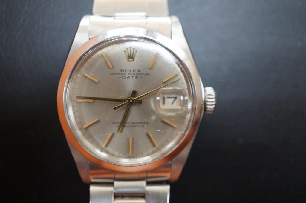 No.1509  ROLEX  (ロレックス ) 自動巻き腕時計を修理しました