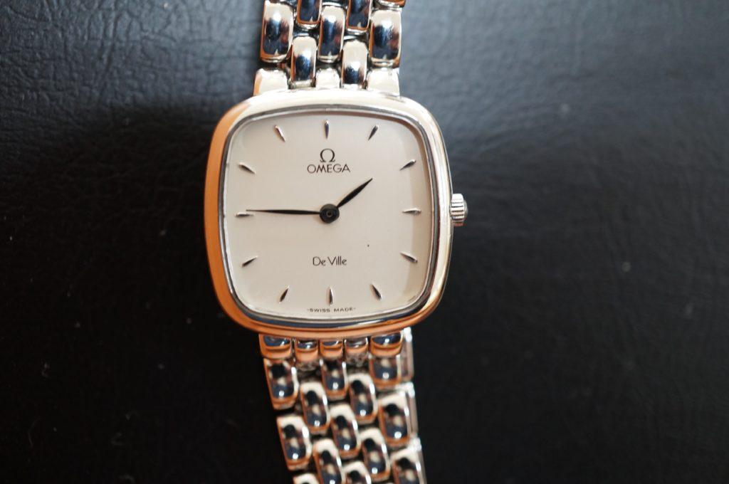 No.1505  OMEGA De Ville (オメガ デビル) クォーツ式腕時計を修理しました