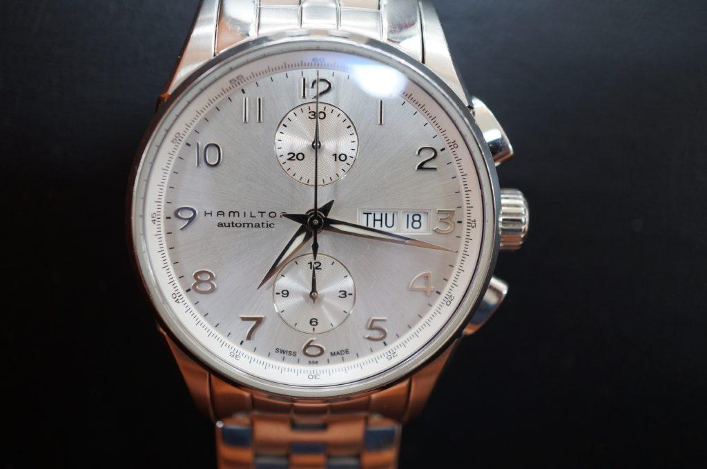 No.1521  HAMILTON (ハミルトン) 自動巻 腕時計を修理しました