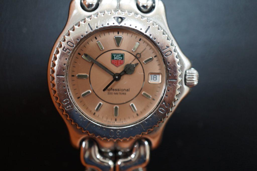 No.1503  TAG HEUER  (タグホイヤー ) クォーツ式 腕時計を修理しました