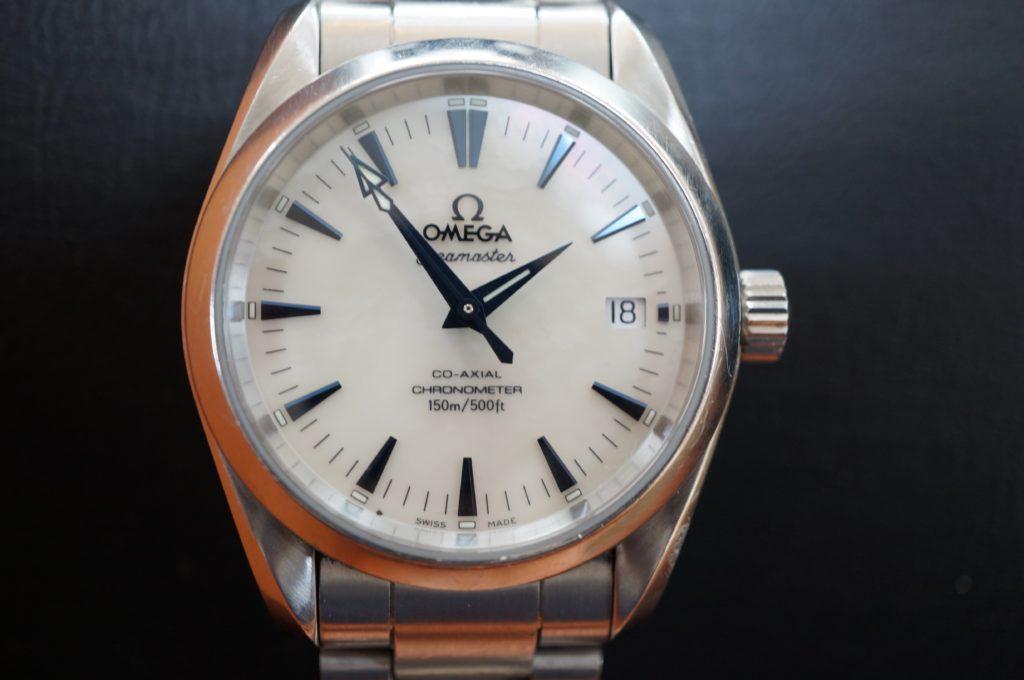 No.1504  OMEGA CO-AXIAL (オメガコーアクシャル) 自動巻き腕時計を修理しました