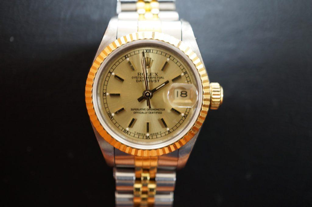 No.1502  ROLEX  (ロレックス ) 自動巻き腕時計を修理しました