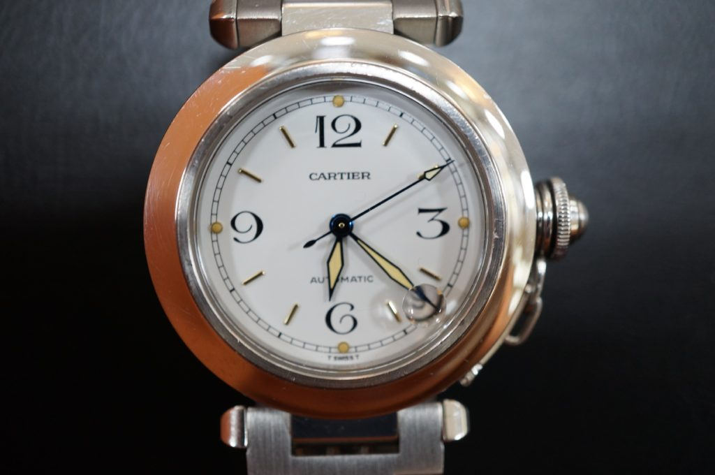 No.1548  CARTER (カルティエ ) 自動巻き腕時計を修理しました