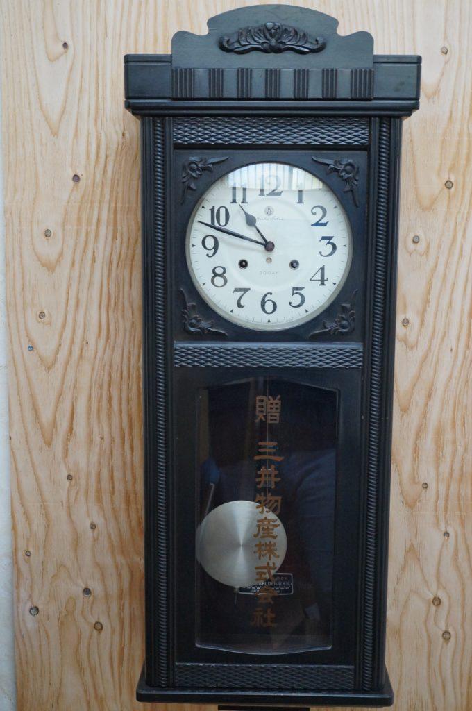 No.1523  SEIKO (セイコー)  ゼンマイ式 掛け時計を修理しました