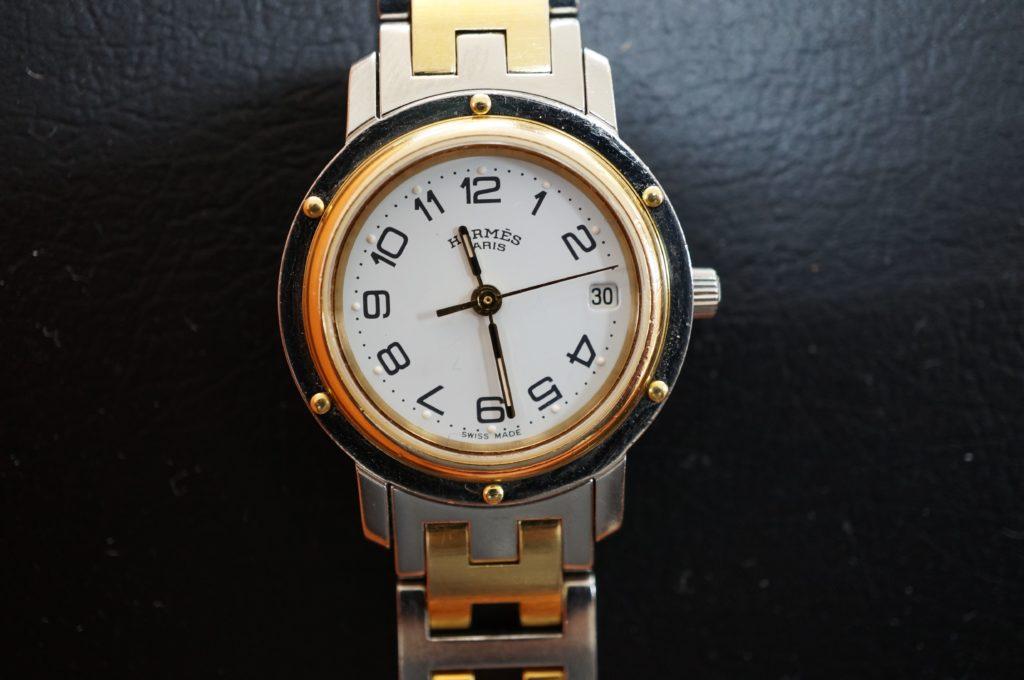 No.1540  HERMES (エルメス) クォーツ式腕時計を修理しました