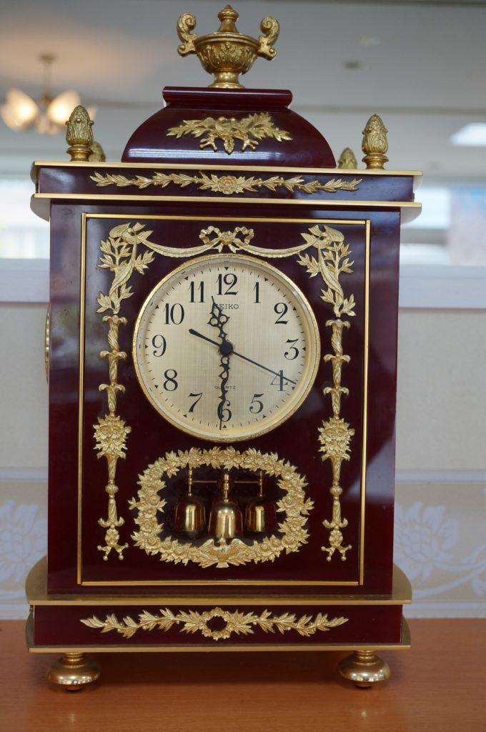 No.1550  SEIKO (セイコー) クォーツ式 置時計を修理しました