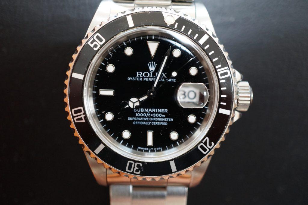 No.1547  ROLEX  (ロレックス ) 自動巻き腕時計を修理しました