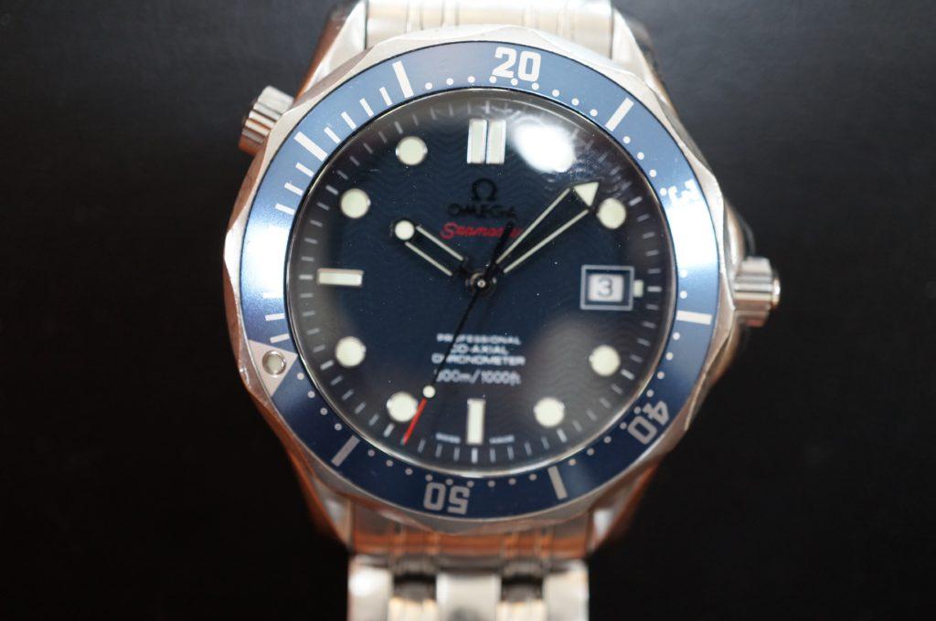 No.1528  OMEGA Seamaster (オメガ シーマスター) 自動巻き腕時計を修理しました