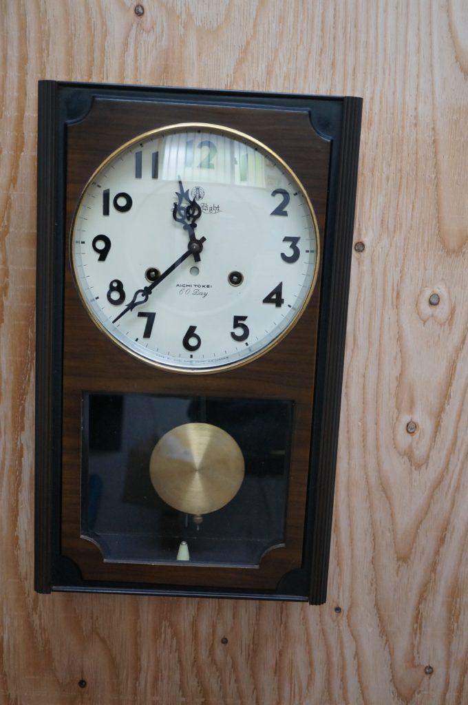 No.1526  SEIKO (セイコー)  ゼンマイ式 掛け時計を修理しました