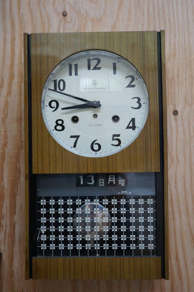 No.1525  SEIKO (セイコー)  ゼンマイ式 掛け時計を修理しました