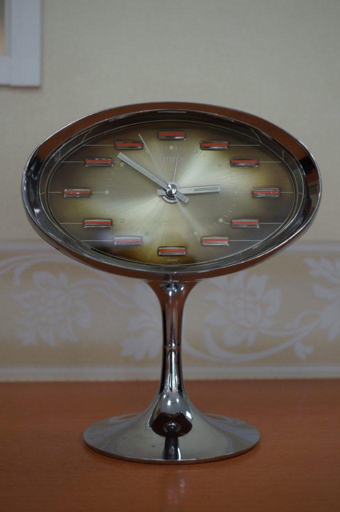No.1560  CITEZEN (シチズン) ゼンマイ式 置時計を修理しました