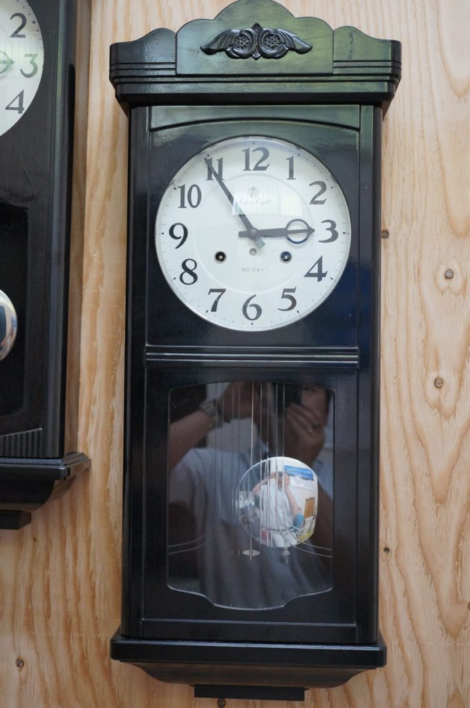 No.1563  SEIKO (セイコー)  ゼンマイ式 掛け時計を修理しました