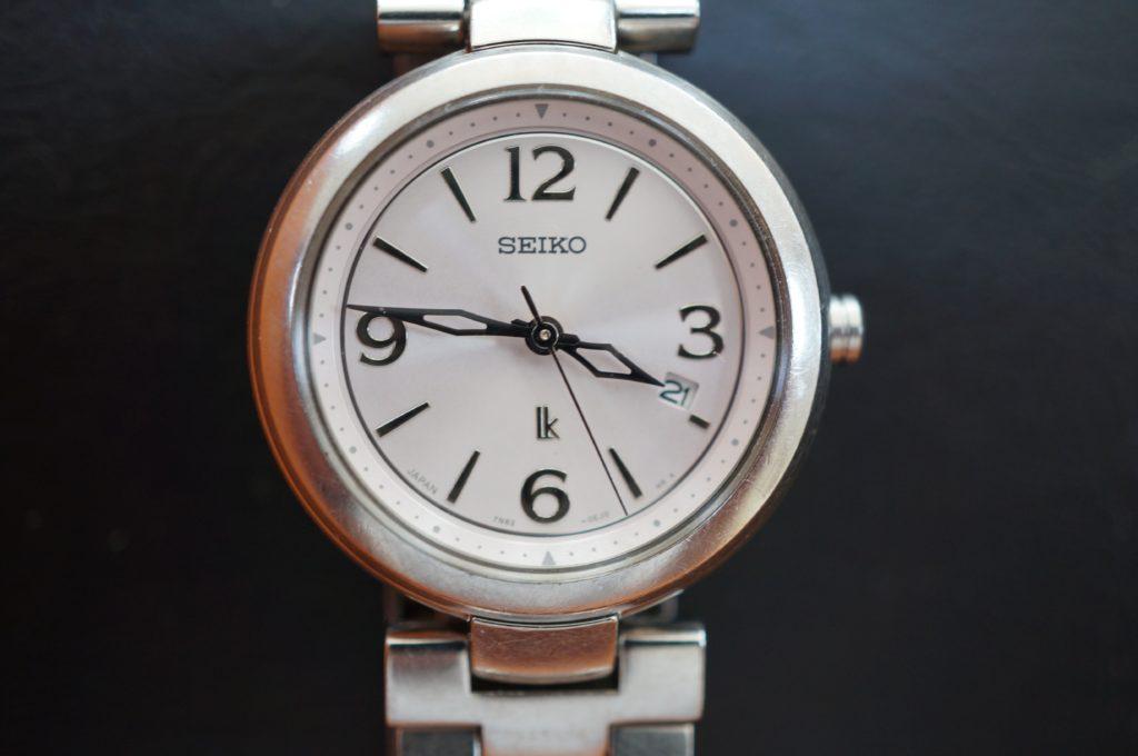 No.1565  SEIKO (セイコー) クォーツ式 腕時計を修理しました
