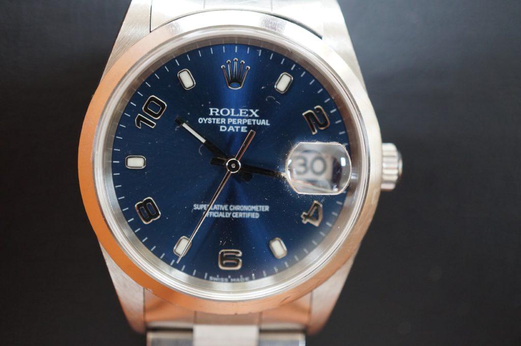 No.1580  ROLEX  (ロレックス ) 自動巻き腕時計を修理しました