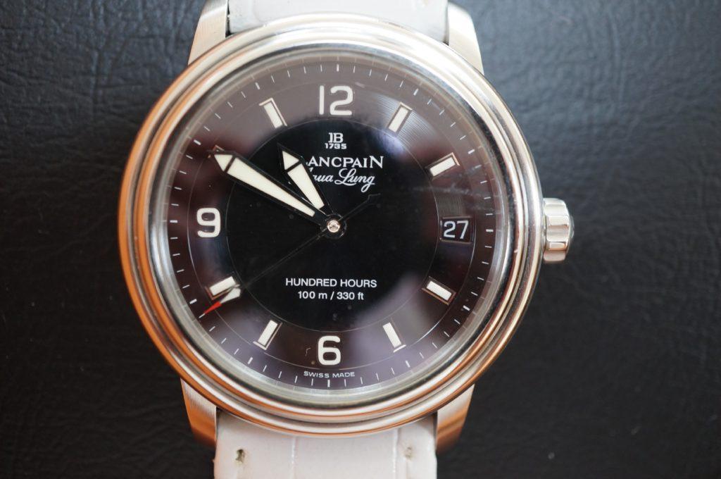 No.1569  BLANPAN (ブランパン) 自動巻き 腕時計を修理しました