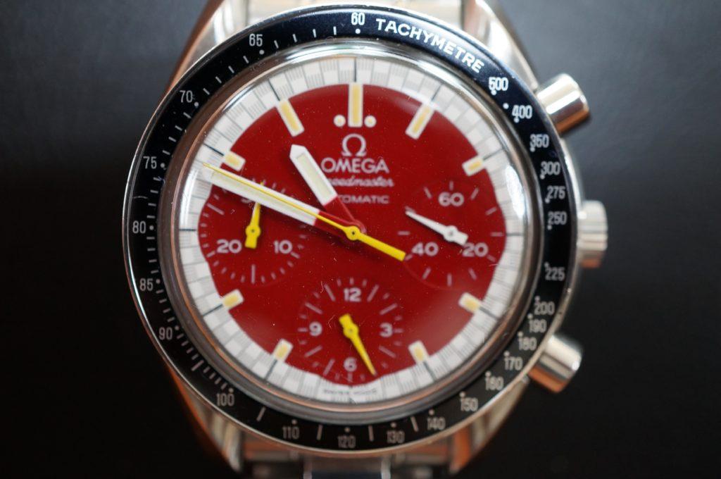 No.1587  OMEGA Speedmaster (オメガスピードマスター) 自動巻き 腕時計を修理しました