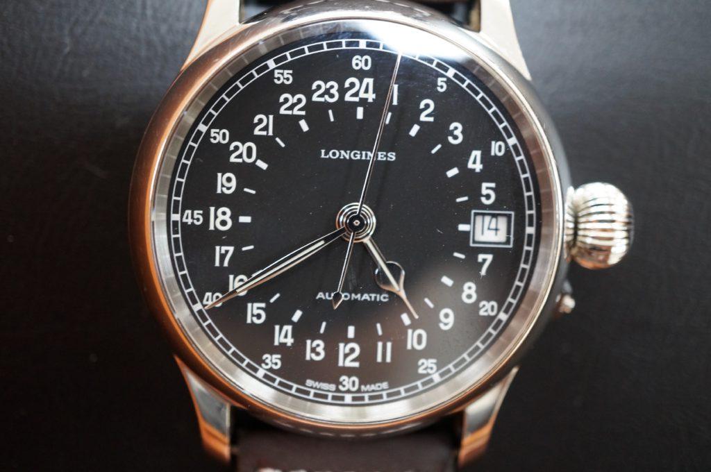 No.1601  LONGINES (ロンジン)  自動巻 腕時計を修理しました