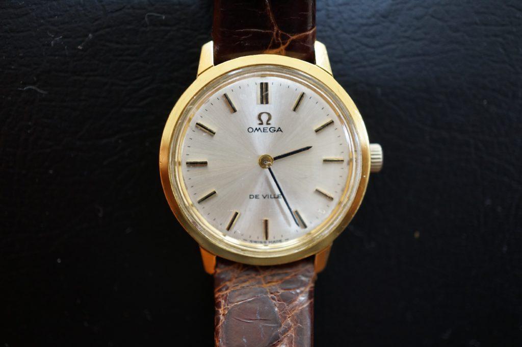 No.1604  OMEGA De Ville (オメガ デビル) 手巻き式腕時計を修理しました