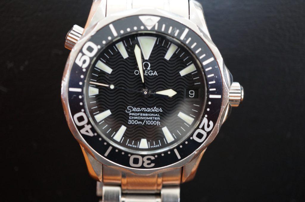 No.1600  OMEGA Seamaster (オメガ シーマスター) 自動巻き腕時計を修理しました