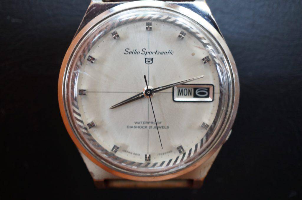 No.1608  SEIKO (セイコー) 自動巻 腕時計を修理しました
