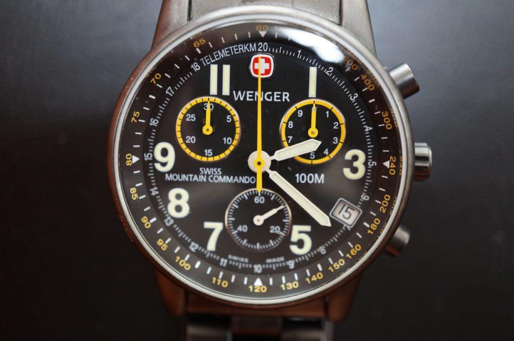 No.1589  WENGER (ウェンガー) クォーツ式腕時計を修理しました