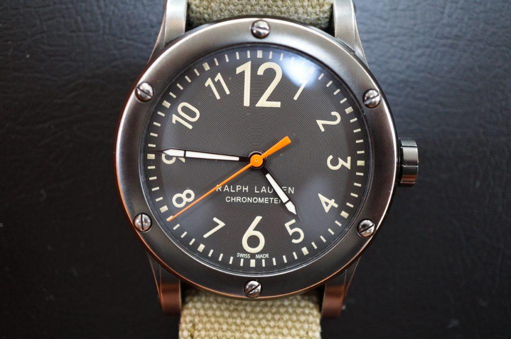 No.1610  RALPH LAUREN (ラルフローレン) クォーツ式 腕時計を修理しました