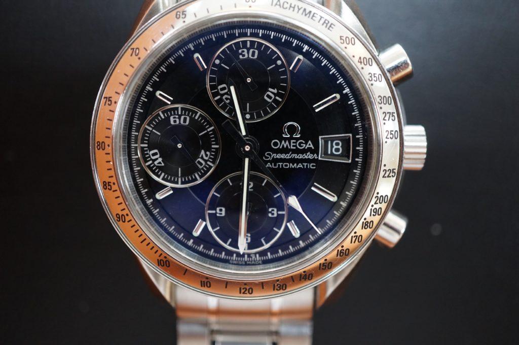 No.1588  OMEGA Speedmaster (オメガスピードマスター) 自動巻き 腕時計を修理しました
