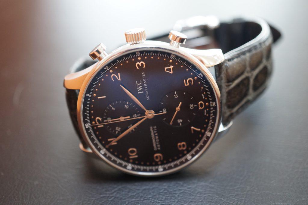 No.1602  I W C  (インターナショナル・ウォッチ・カンパニー) 自動巻き腕時計を修理しました
