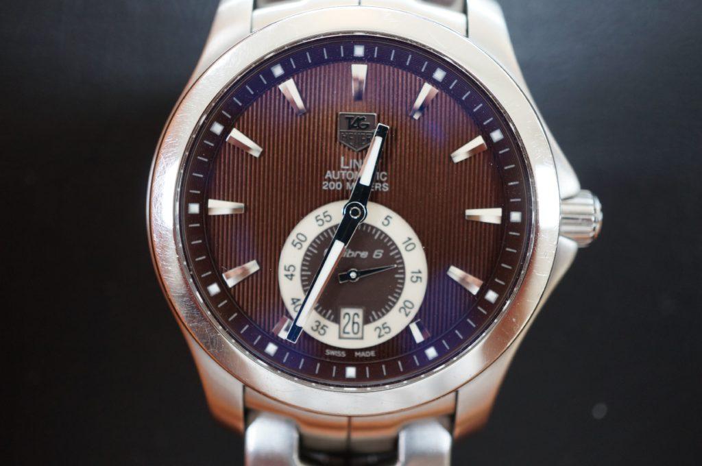 No.1605  TAG HEUER  (タグホイヤー ) 自動巻き腕時計を修理しました