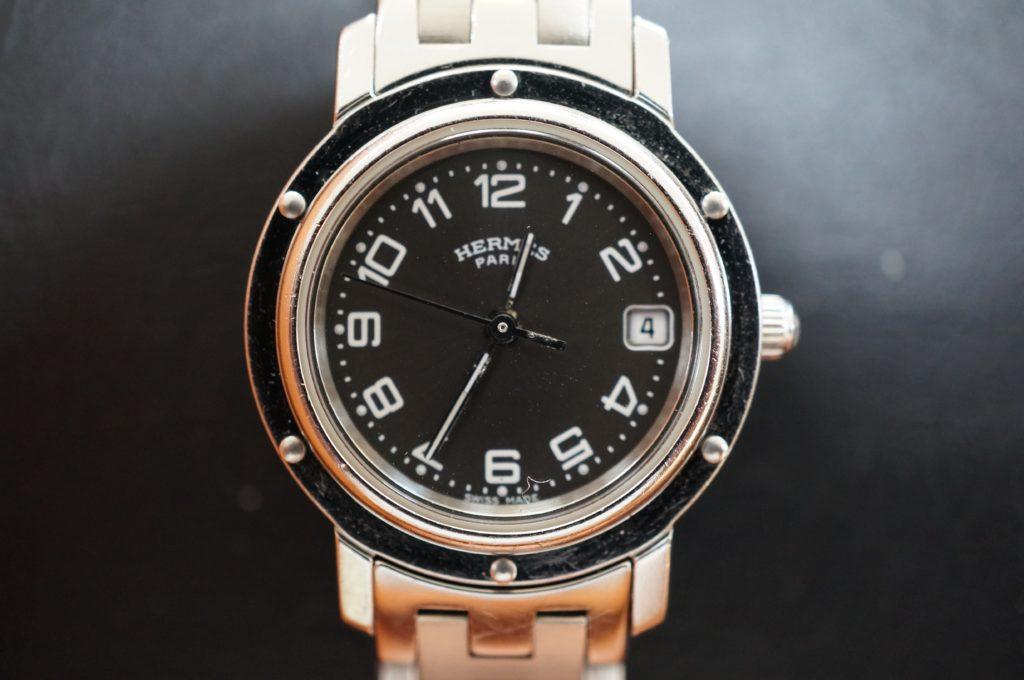 No.1606  HERMES (エルメス) クォーツ式 腕時計を修理しました