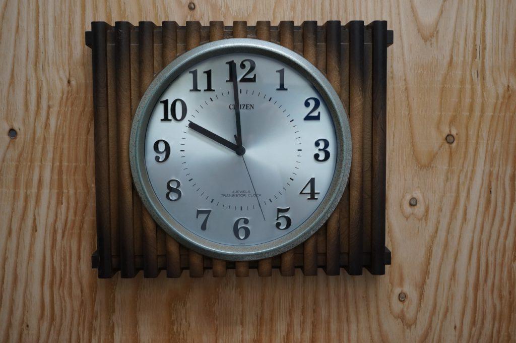 No.1623  CITIZEN(シチズン)クォーツ式 掛け時計を修理しました