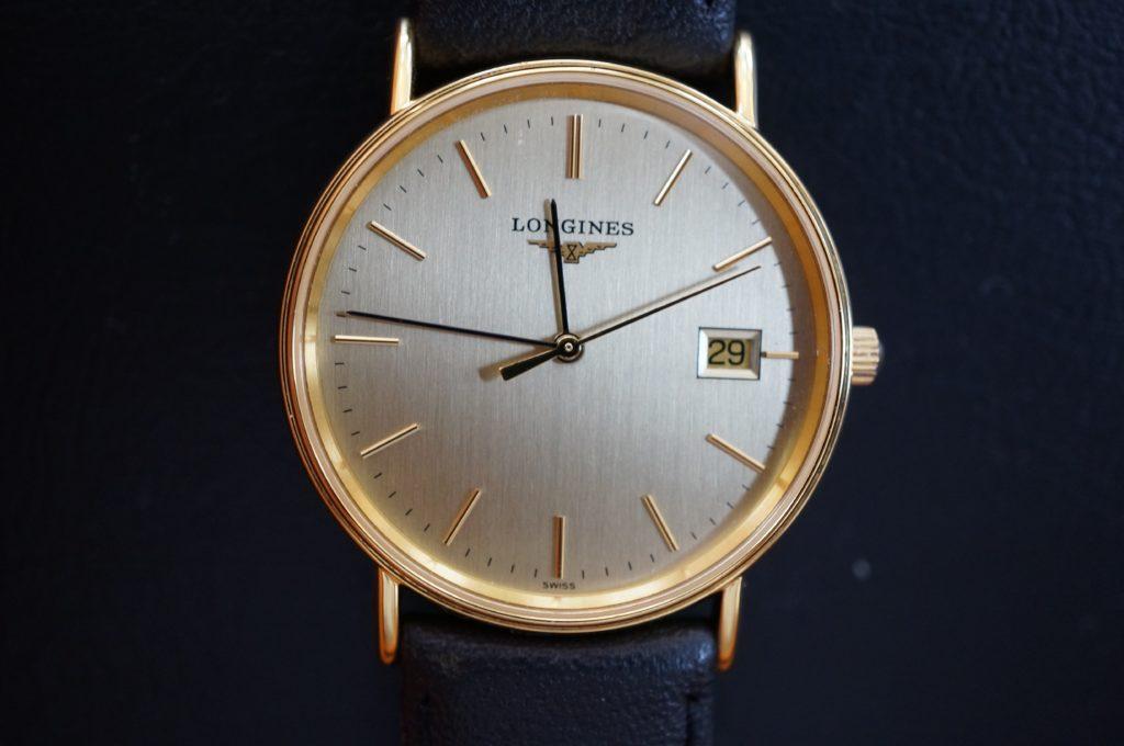No.1661  LONGINES (ロンジン)  クォーツ式 腕時計を修理しました