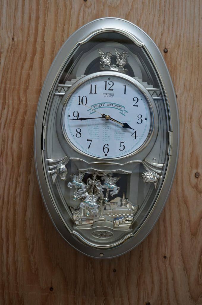 No.1650  CITIZEN(シチズン)クォーツ式 掛け時計を修理しました