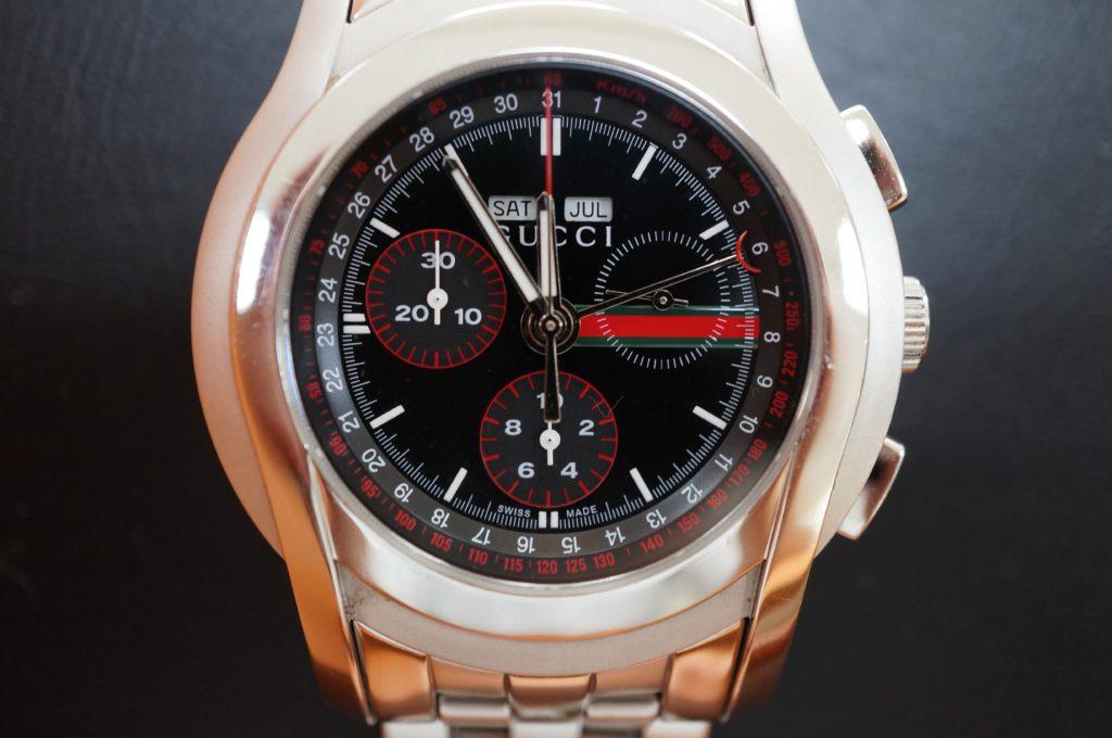 No.1646  GUCCI  (グッチ ) クォーツ式腕時計を修理しました