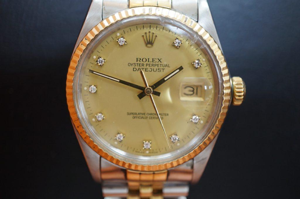 No.1647  ROLEX  (ロレックス ) 自動巻き腕時計を修理しました