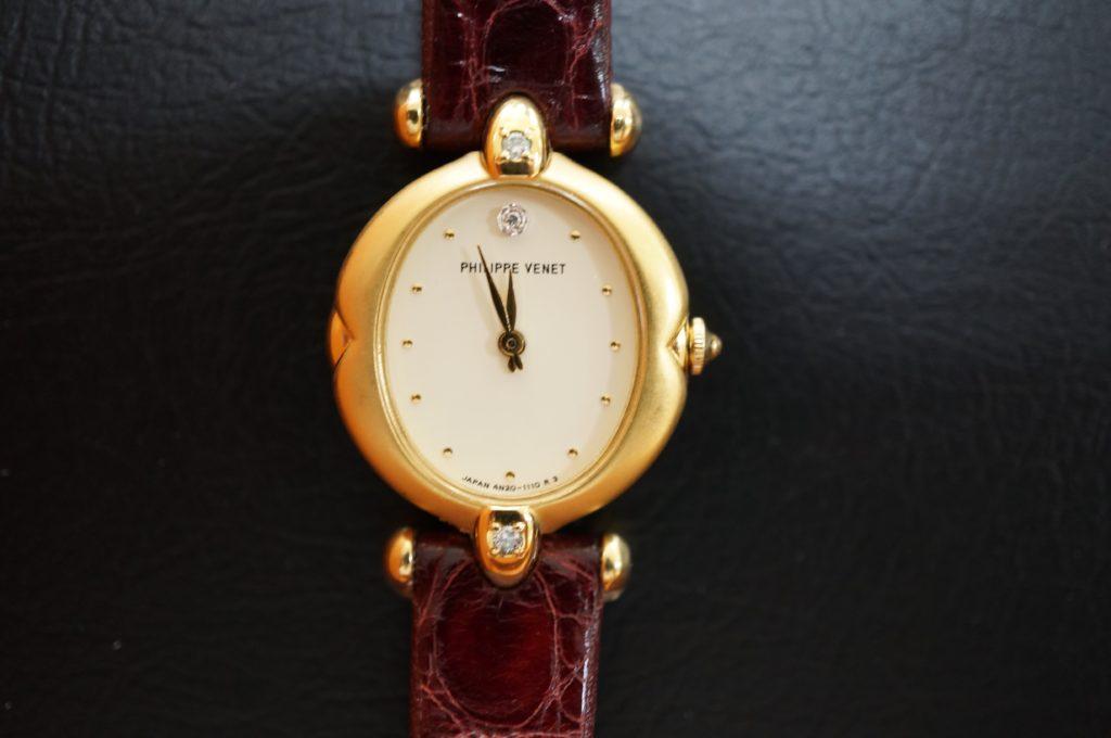 No.1626  PHILPPE VENET(フィリップ・ヴネ)クォーツ式 腕時計を修理しました