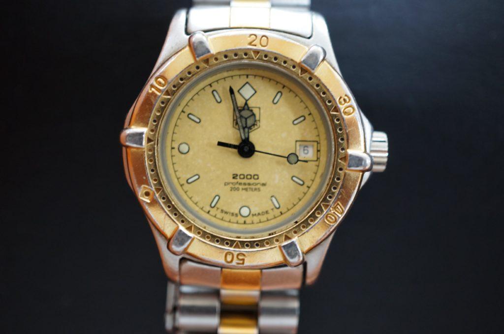 No.1625  TAG HEUER(タグホイヤー)クォーツ式 腕時計を修理しました
