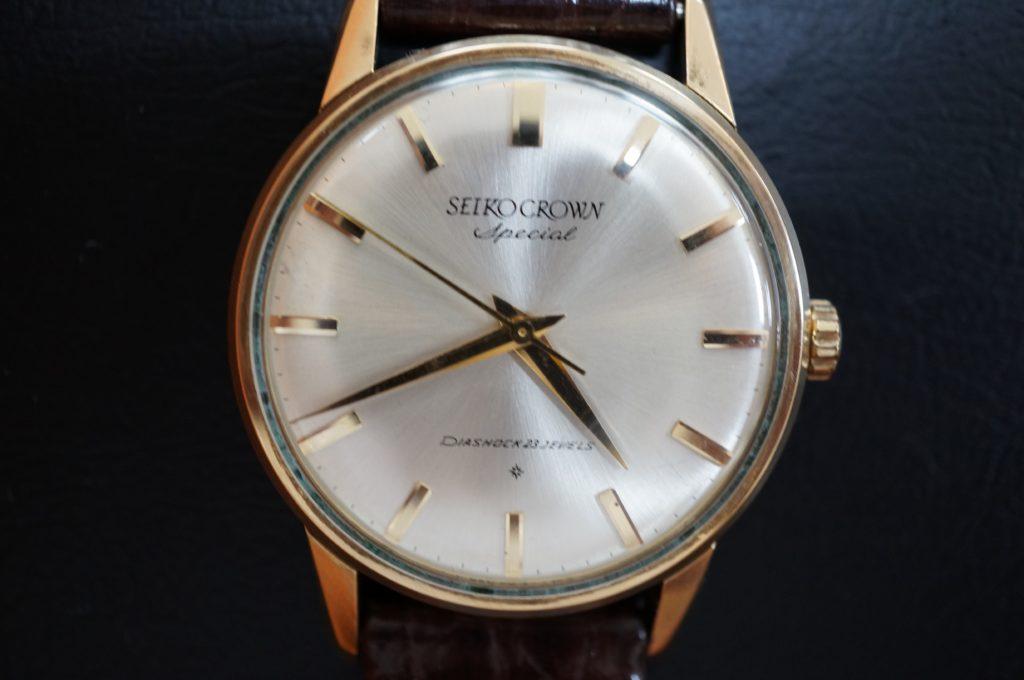 No.1628  SEIKO CROWN(セイコー・クラウン) 手巻き式 腕時計を修理しました