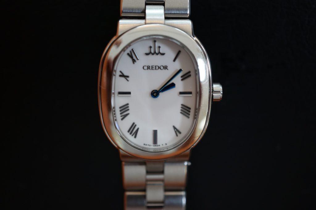 No.1664  SEIKO CREDOR (セイコー・クレドール ) クォーツ式腕時計を修理しました