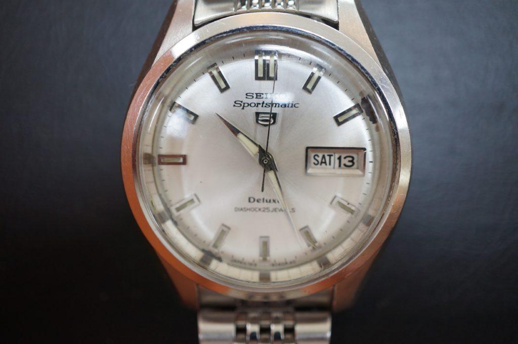 No.1662  SEIKO SPORTS(セイコー・スポーツ) 自動巻式 腕時計を修理しました